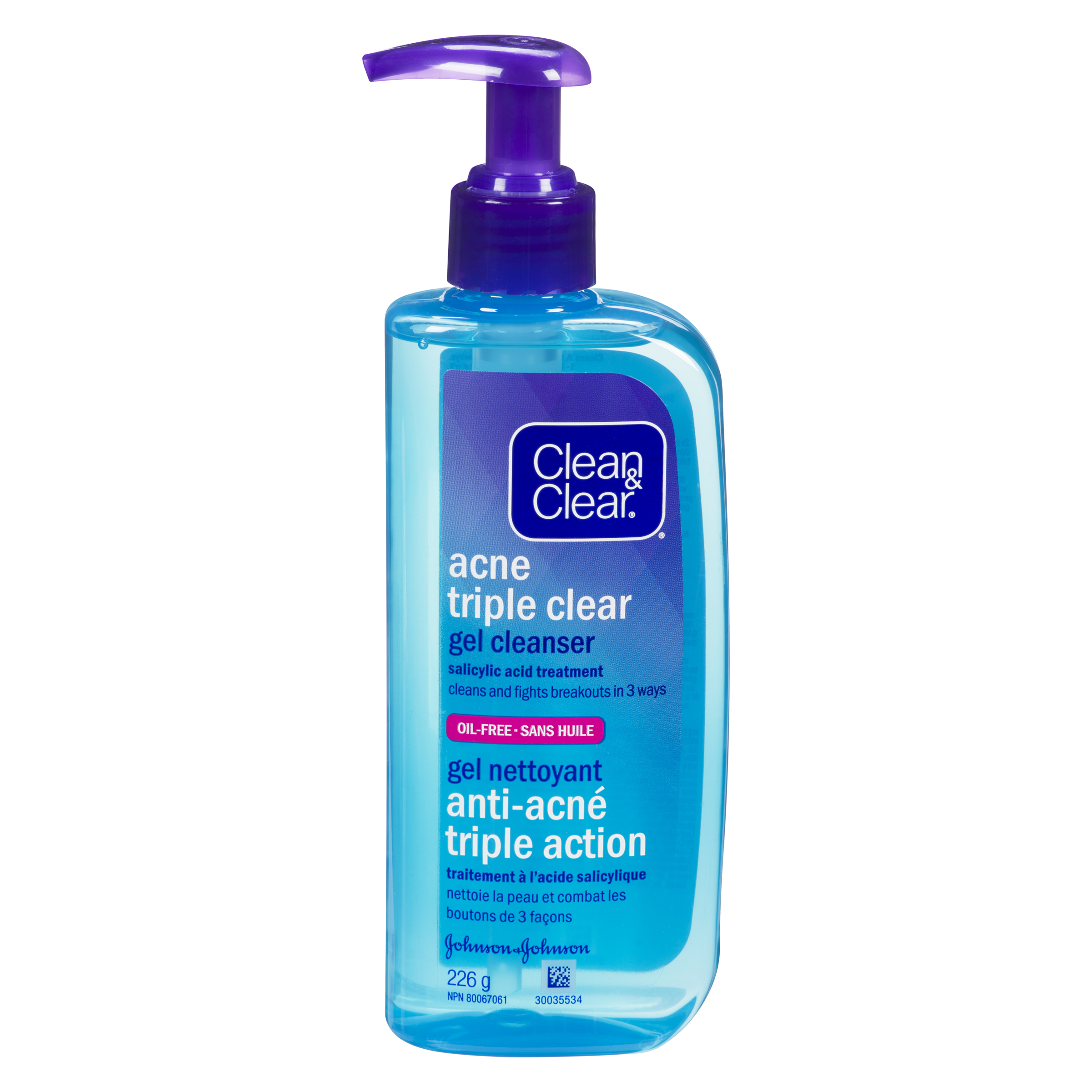 Acne Triple Clear Gel Cleanser Clean Amp Clear 174 Canada