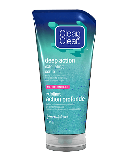 Clean and clear facial products