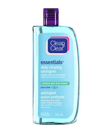 Essentials Deep Cleaning Astringent for Sensitive Skin | CLEAN & CLEAR® Canada