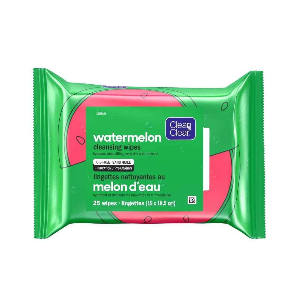 CLEAN & CLEAR Watermelon Cleansing Wipes