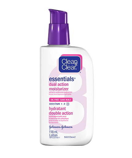 CLEAN & CLEAR ESSENTIALS® Dual Action Moisturizer