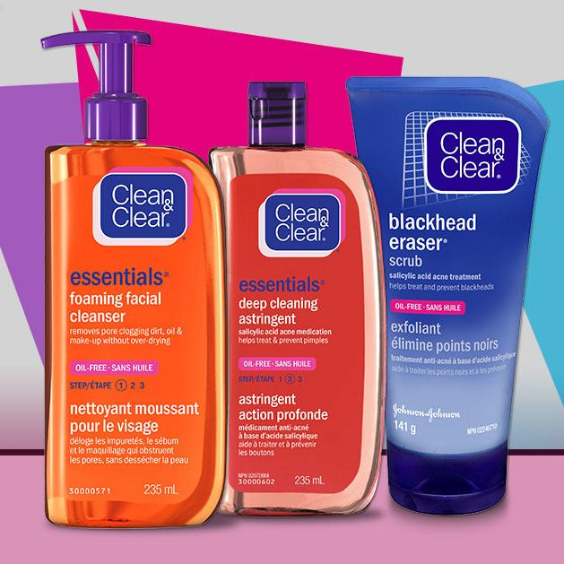 family of Clean & Clear products