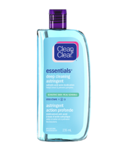 CLEAN & CLEAR ESSENTIALS® Deep Cleaning Astringent for Sensitive Skin