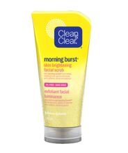 CLEAN & CLEAR® MORNING BURST® Skin Brightening Facial Scrub