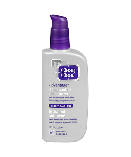 Clean and clear acne control moisturizer review