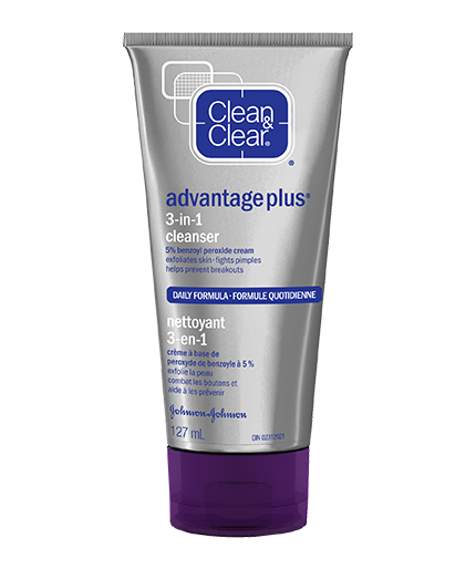 CLEAN & CLEAR ADVANTAGE® Plus 3-in-1 Cleanser
