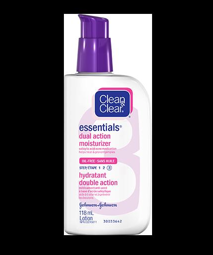 CLEAN & CLEAR ESSENTIALS® Dual Action Moisturizer