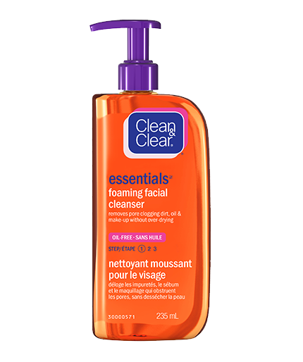 CLEAN & CLEAR ESSENTIALS® Foaming Facial Cleanser