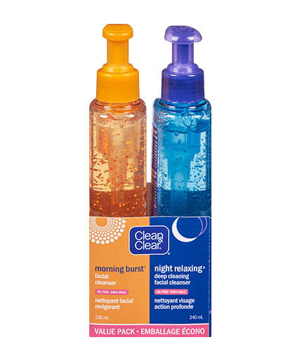 CLEAN & CLEAR® MORNING BURST® Day/Night Pack