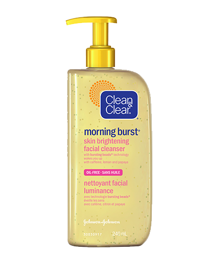 CLEAN & CLEAR® MORNING BURST® Skin Brightening Facial Cleanser